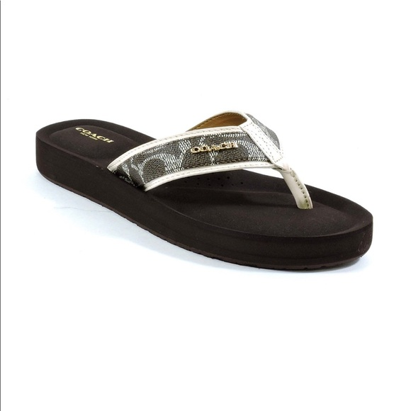 7cb03686d7d0 Coach Shoes - NEW Coach Judy Flip Flop Sz 9